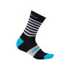 Castelli Mens Gregge 15cm Merino Cycling Socks - Sky Blue/Black