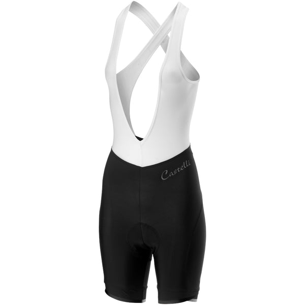 Castelli Womens Vista Bibshorts - Black