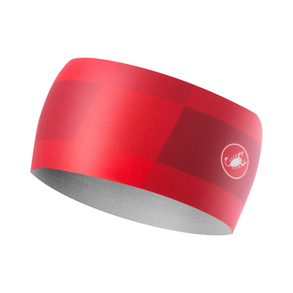 Castelli Winter Arrivo 3 Thermal Headband - Red