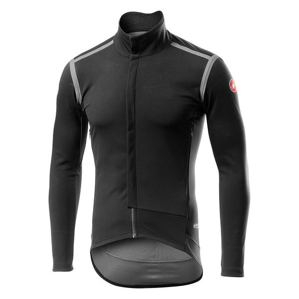 Castelli Mens Perfetto Ros Jacket - Light Black