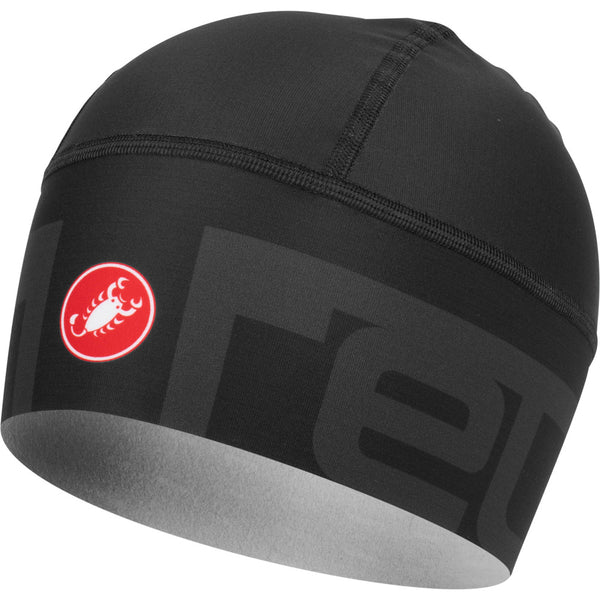 Castelli Viva 2 Thermo Skull Cap - Light Black