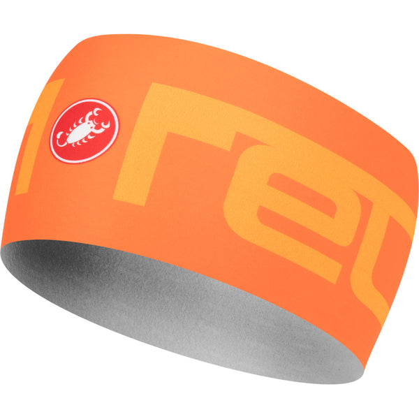 Castelli Viva 2 Thermo Headband - Orange