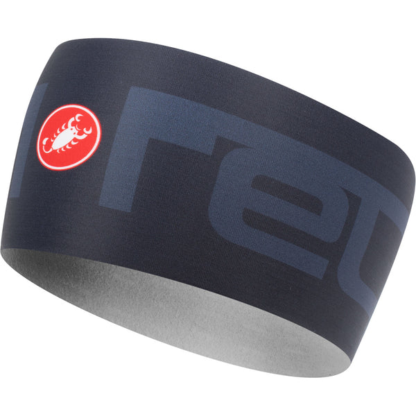 Castelli Viva 2 Thermo Headband - Dark Steel Blue