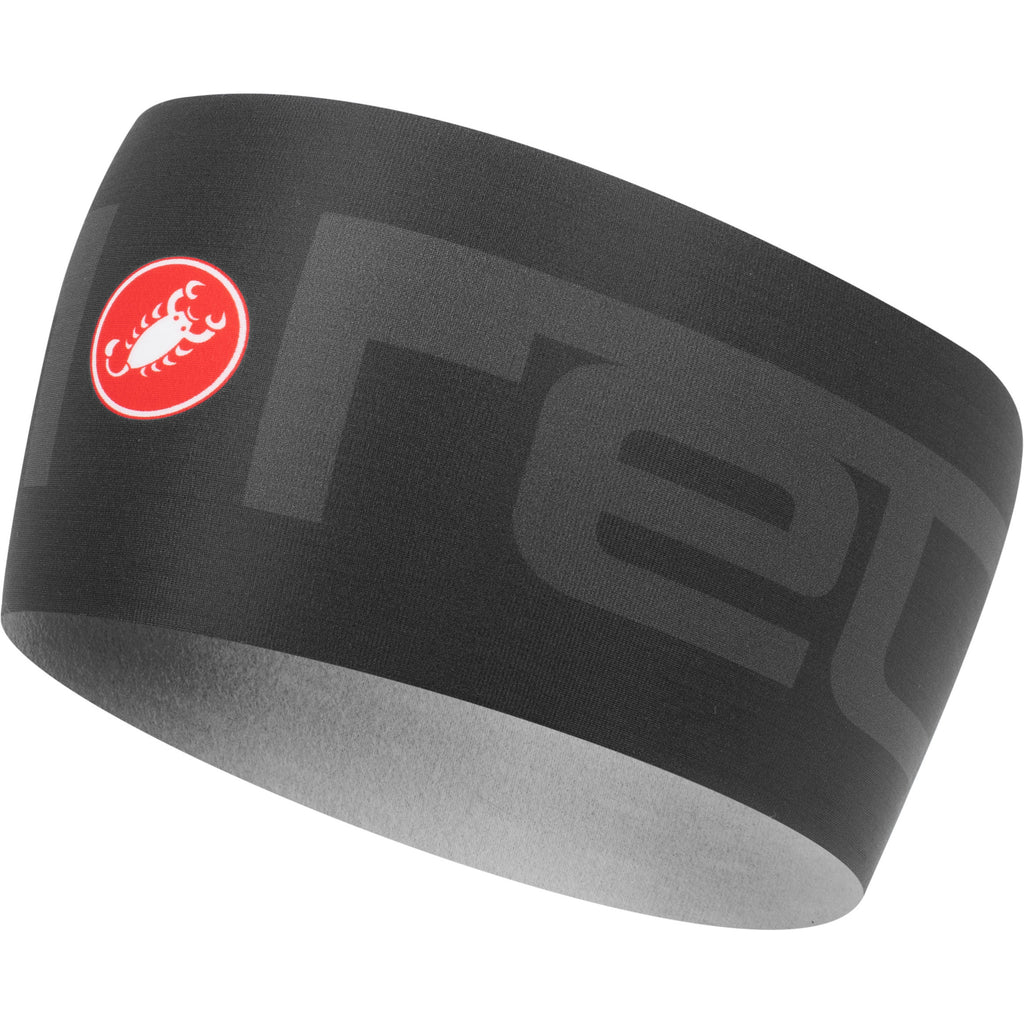Castelli Viva 2 Thermo Headband - Light Black
