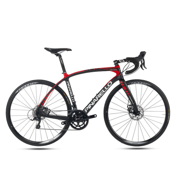 Pinarello Mercurio Carbon Fiber Disk Bike - Black/Red