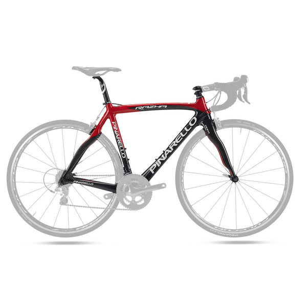 Pinarello Razha Carbon Fiber Frameset - Red / Black