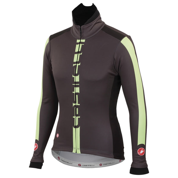 Castelli Mens AR Jacket - Anthracite Green