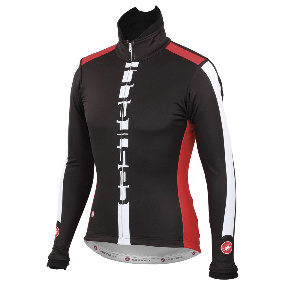 Castelli Mens AR Jacket - Black Red