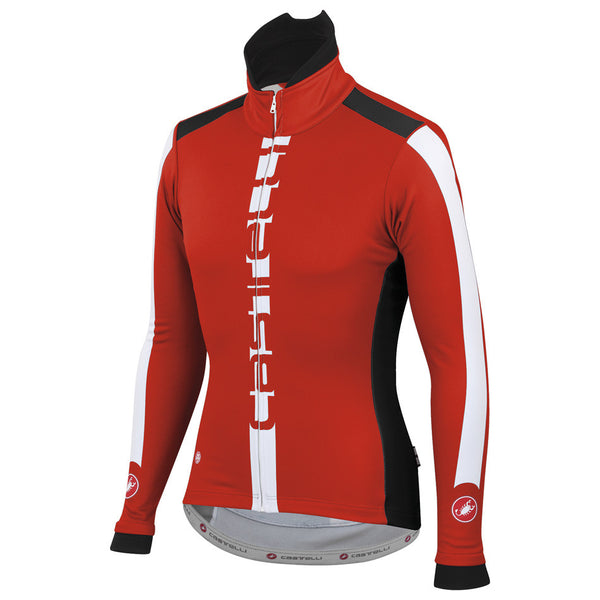 Castelli Mens AR Jacket - Red