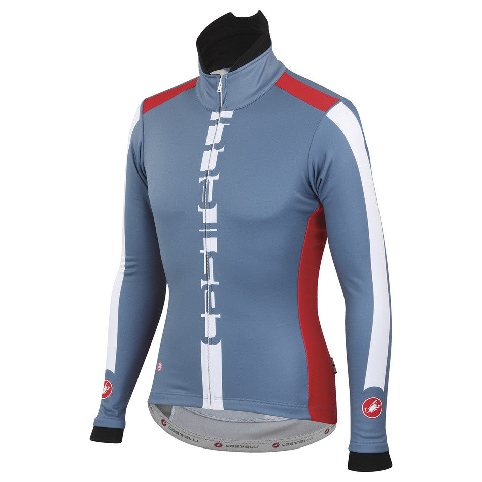 Castelli Mens AR Jacket - Moonlight Blue