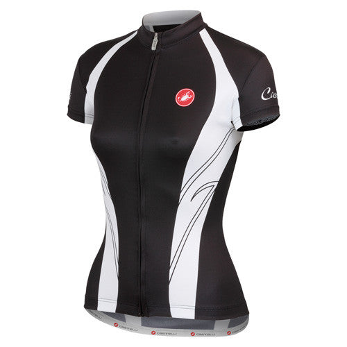 Castelli Womens Amore Jersey - Black/White