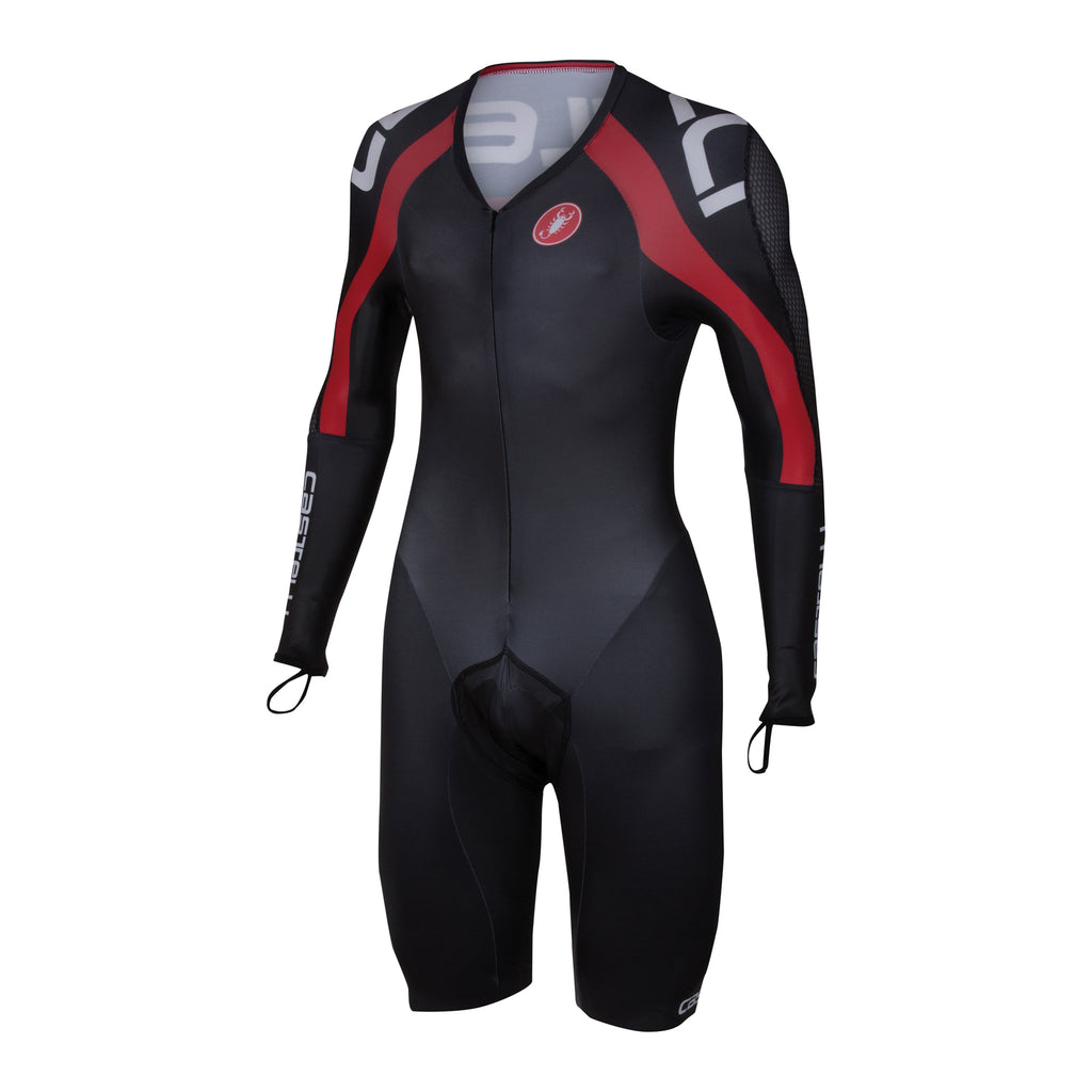 Castelli Mens Bodypaint 3.0 Speedsuit - Black Red