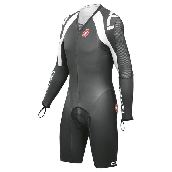 Castelli Mens Bodypaint Speedsuit 3.0 - Black White