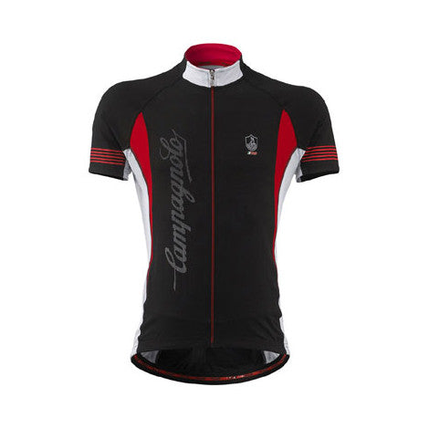 Campagnolo Mens Racing Short Sleeve Jersey - Black
