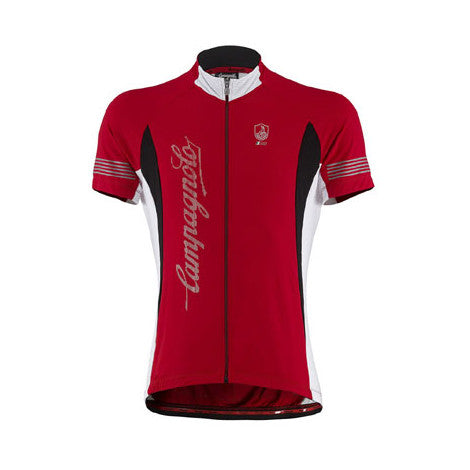 Campagnolo Mens Racing Short Sleeve Jersey - Red
