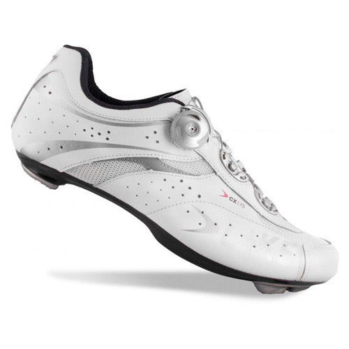 Lake Mens CX175 BOA Road Cycling Shoes - White
