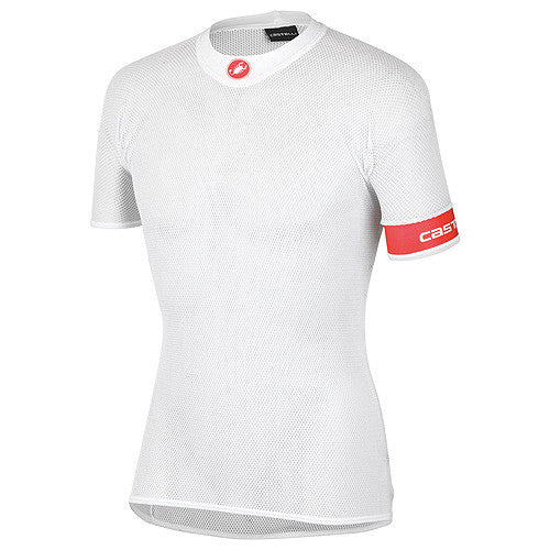 Castelli Mens Core Mesh Short Sleeve Summer Baselayer