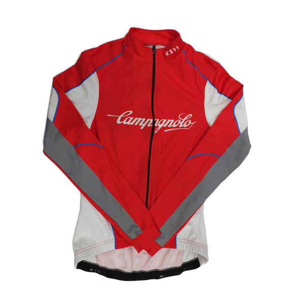 Campagnolo Womens Challenge Long Sleeve Jersey - Red