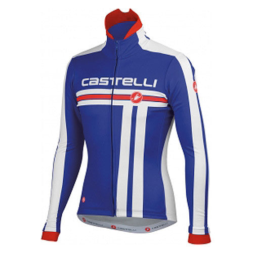 Castelli Mens Free Cycling Jacket - Blue