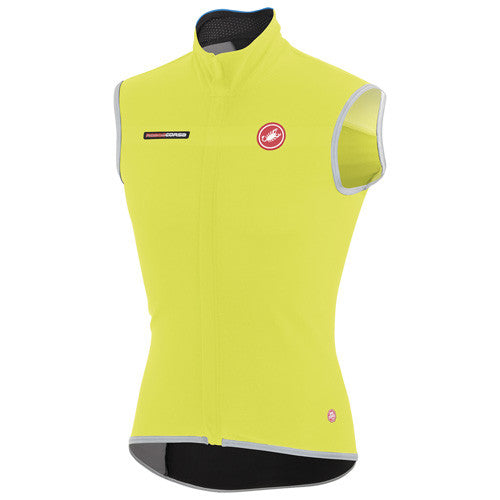 Castelli Mens Fawesome 2 Vest - Fluro Yellow