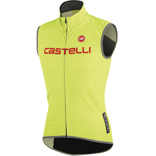 Castelli Mens Fawesome Vest - Fluro Yellow