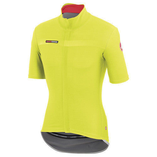 Castelli Mens Gabba 2 Short Sleeve Jersey - Fluro Yellow