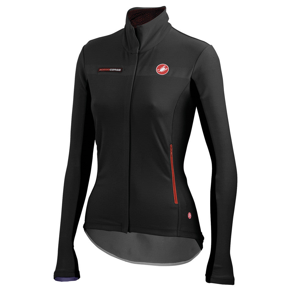 Castelli Womens Gabba Long Sleeve Jacket - Black