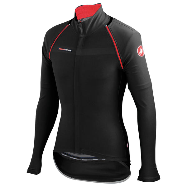 Castelli Mens Gabba 2 Convertible Jacket - Black