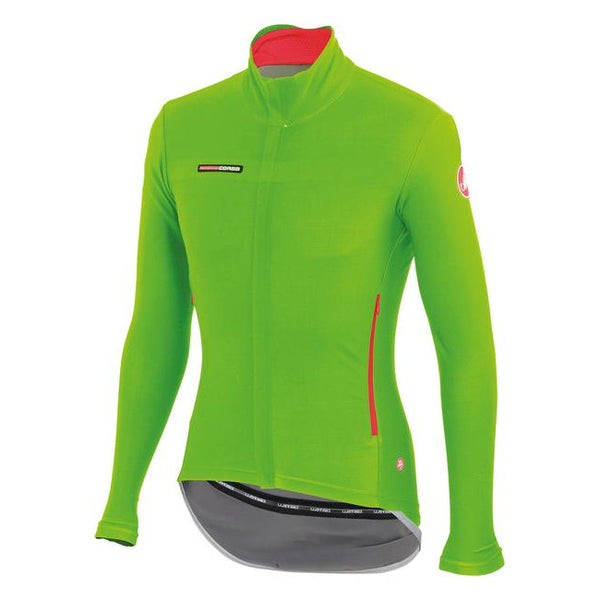 Castelli Mens Gabba 2 Long Sleeve Jacket - Green