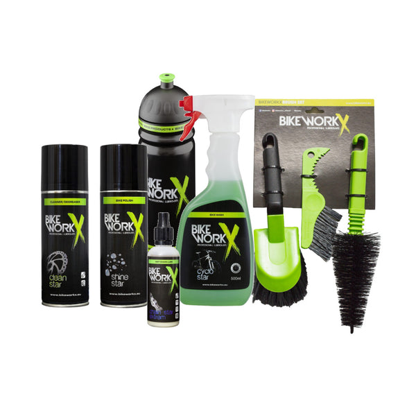 BikeworkX Bicycle Maintenance Kit - Wet Weather