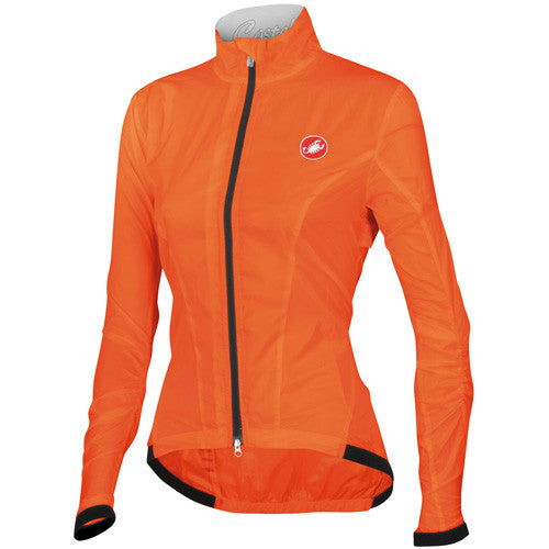 Castelli Womens Leggera Jacket - Orange