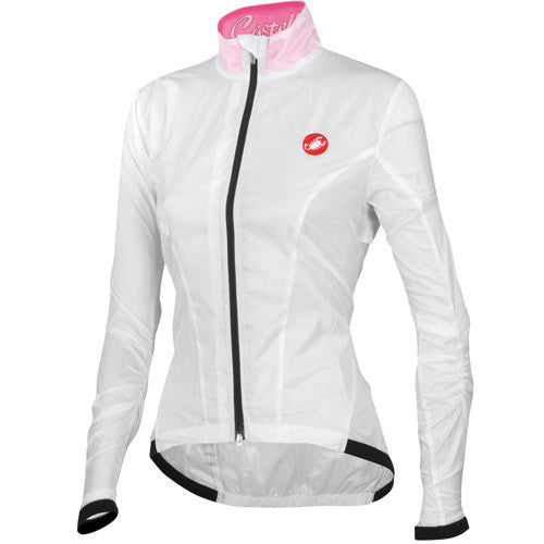 Castelli Womens Leggera Jacket - White