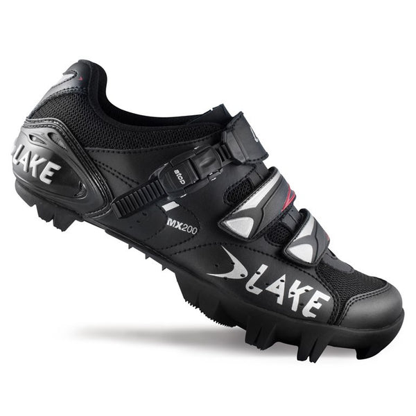 Lake Mens MX200 MTB Shoes - Black