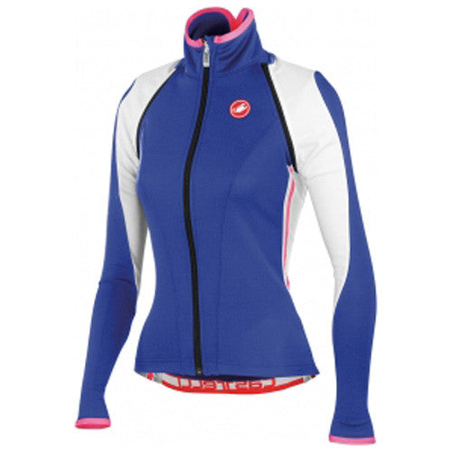 Castelli Womens Pazza Wind Shell Jacket - Blue