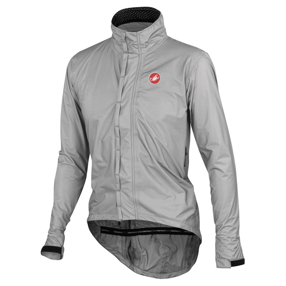 Castelli Mens Pocket Liner eVent Waterproof Cycling Jacket