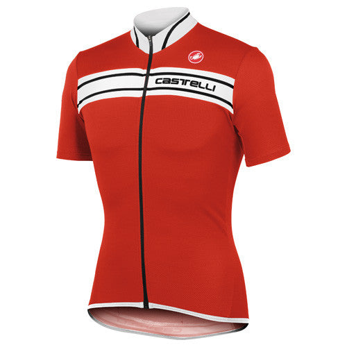 Castelli Mens Prologo 3 Jersey - Red