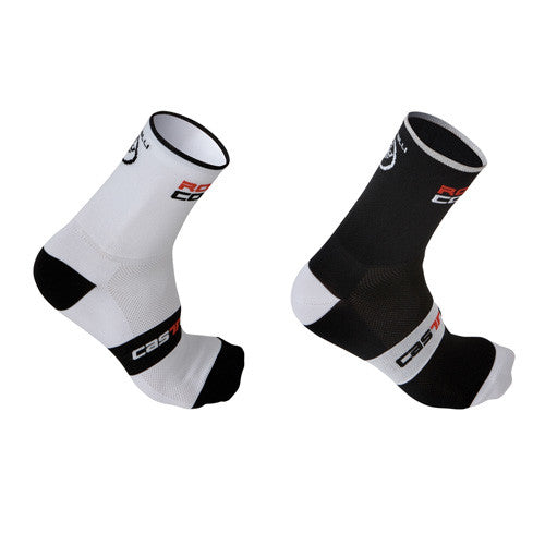 Castelli Rosso Corsa 13 Socks - 3 Pair Multi Pack