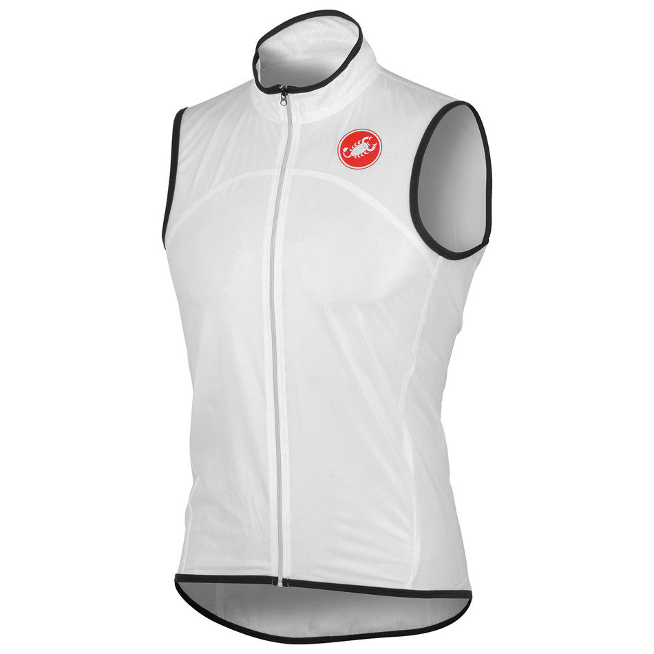 Castelli Mens Sottile Due Vest - White