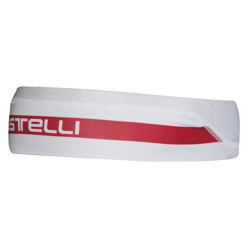 Castelli Lightweight Headband - Red White