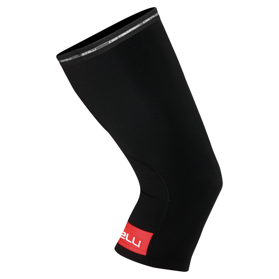 Castelli Thermoflex Knee Warmers - Black Red