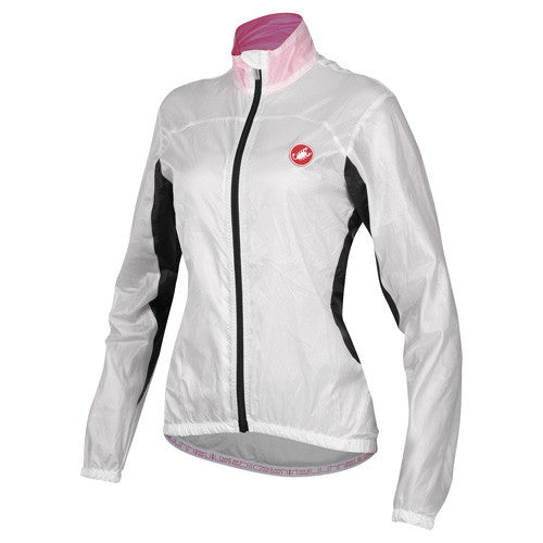 Castelli Womens Velo Jacket - White