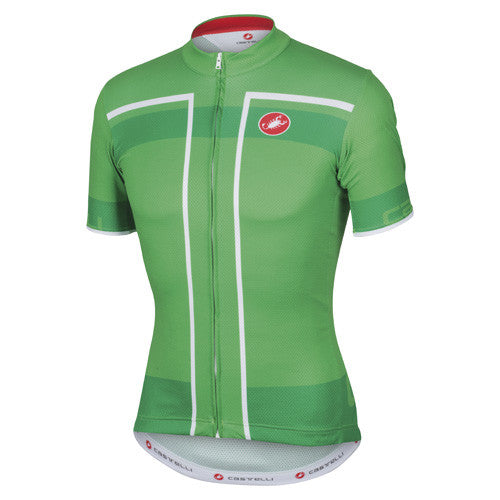 Castelli Mens Velocissimo Jersey - Kelly Green
