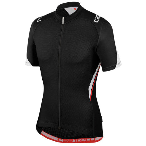 Castelli Mens Vincente Jersey - Black