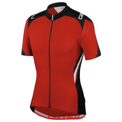 Castelli Mens Vincente Jersey - Red