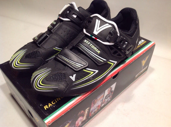 Vittoria V-Pro Carbon Cycling Shoes - Black