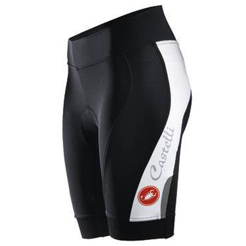 Castelli Womens Vizio Tre Shorts - Black/White