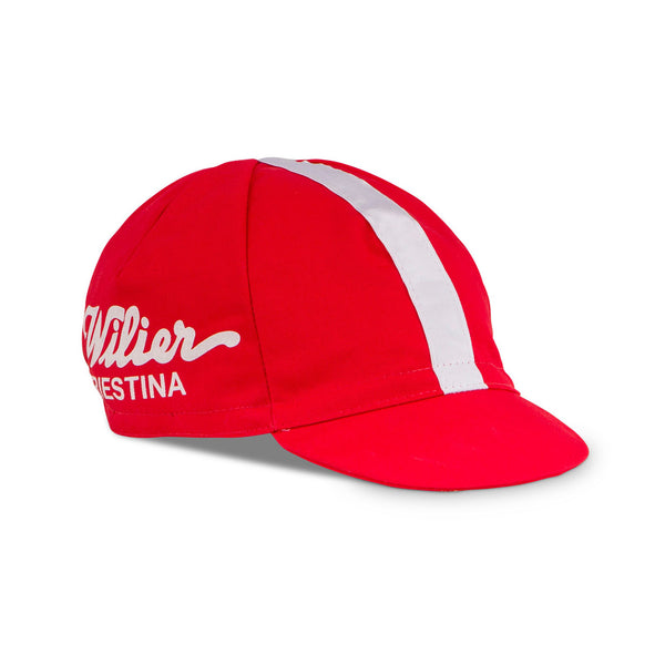 Wilier Vintage Cycling Cap - Red
