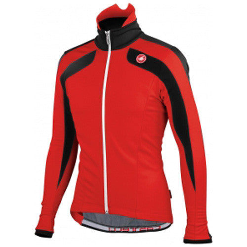 Castelli Mens Zoncolan Cycling Jacket - Red