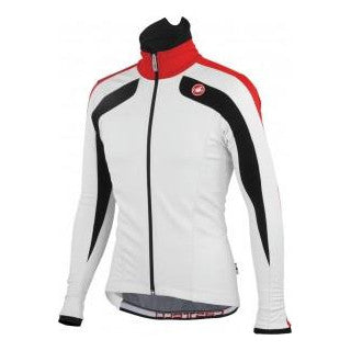 Castelli Mens Zoncolan Cycling Jacket - White