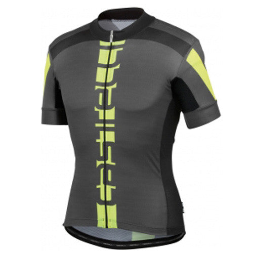 Castelli Mens Aero Race 4.0 Jersey - Black/Fluro Yellow